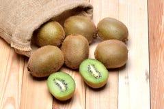 Zamyka w górę kiwi owoc Fotografia Stock