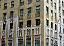 Zamyka w górę korporacyjnych budynków okno Zdjęcie Stock