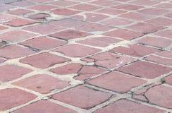 Krakingowy bloku kamień Zdjęcia Royalty Free