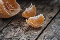Zamyka w górę mandarine Obraz Stock