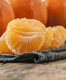 Zamyka w górę mandarine Obraz Royalty Free