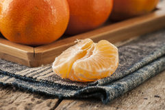 Zamyka w górę mandarine Zdjęcie Stock
