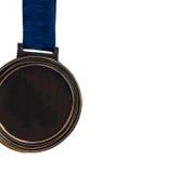 Zamyka w górę medalu Fotografia Royalty Free