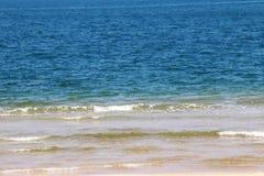 Zamyka w górę morze fala Zdjęcie Royalty Free