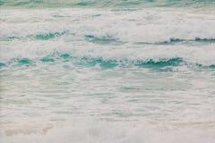 Zamyka w górę morze fala Obrazy Stock