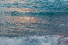 Zamyka w górę morze fala Zdjęcia Stock
