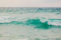 Zamyka w górę morze fala Fotografia Royalty Free