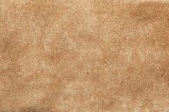 Zamyka w górę shammy skóry tekstury Fotografia Stock