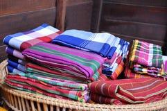 Tajlandzki stylowy loincloth Fotografia Stock