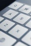 Zamyka w górę widok klucze komputerowa klawiatura Zdjęcie Stock