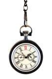 Zamyka zegarek kieszeniowy rocznika zegarek Obraz Stock