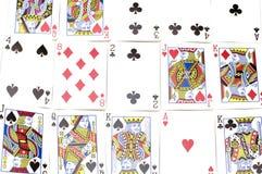 zamykają karty grać, Obraz Royalty Free