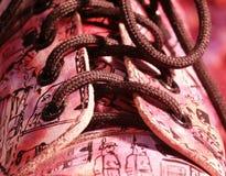 zamykają się ostry buty Obraz Royalty Free