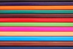 Zamykający w górę koloru ołówka lubi koloru baru Obraz Stock
