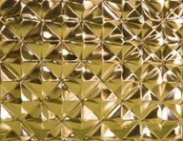 Zamykający w górę szklanej tekstury Fotografia Royalty Free