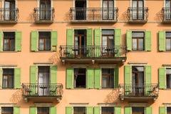 Zamykający Windows w Włochy Obraz Royalty Free
