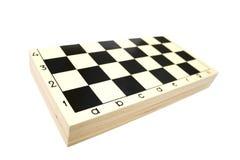 zamykający deskowy szachy Zdjęcie Stock
