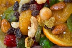 3 zamykają wysuszonego - owocowi typ owocowy Obrazy Stock
