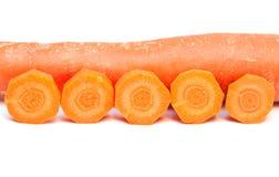 Zanahoria. Foto de archivo libre de regalías