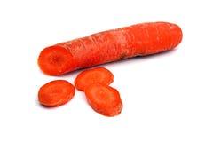 Zanahoria anaranjada Foto de archivo libre de regalías