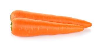 Zanahoria en el fondo blanco Foto de archivo libre de regalías