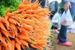Zanahoria en el mercado Imagenes de archivo