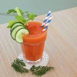Zanahoria Juice Health Drink Fotos de archivo
