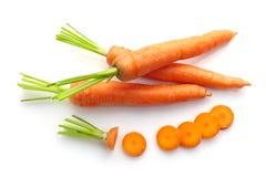 Zanahoria sin procesar fresca Fotografía de archivo libre de regalías