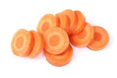 Zanahoria tajada imagen de archivo libre de regalías