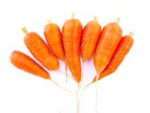 Zanahorias Imágenes de archivo libres de regalías