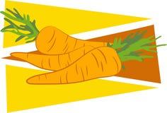 Zanahorias stock de ilustración