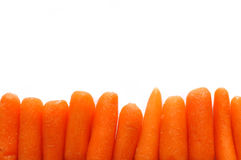 Zanahorias de bebé fotografía de archivo