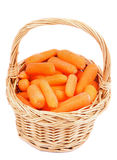 Zanahorias de bebé Imágenes de archivo libres de regalías