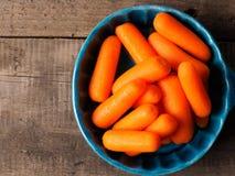 Zanahorias de bebé deliciosas Fotos de archivo libres de regalías