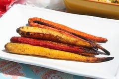 Zanahorias del arco iris Imágenes de archivo libres de regalías