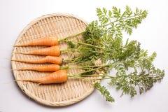 Zanahorias finas imagenes de archivo