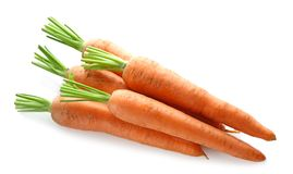 Zanahorias frescas Imagenes de archivo