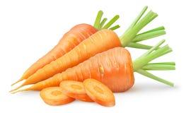 Zanahorias frescas Imágenes de archivo libres de regalías