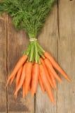 Zanahorias frescas Fotos de archivo