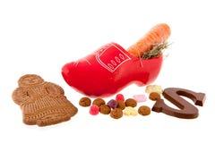 Zanahorias para Sinterklaas Imagen de archivo libre de regalías