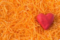 Zanahorias ralladas Fotografía de archivo