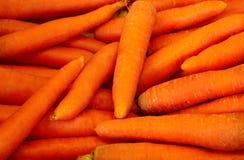 Zanahorias sin procesar frescas Imagen de archivo