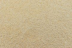 Zand Achtergrondstrand in de zomer Stock Afbeelding