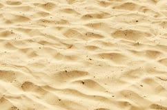 Zand als textuur en achtergrond Stock Foto's