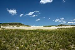 Zand in de Heuvels Stock Afbeelding