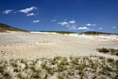 Zand in de Heuvels Royalty-vrije Stock Afbeeldingen