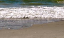 Zand en Golven Royalty-vrije Stock Foto