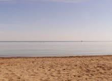 Zand en hemel Stock Fotografie