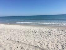 Zand en het overzees royalty-vrije stock afbeelding