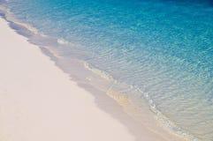 Zand en overzees stock afbeelding